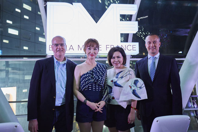 BMF Bella Marie France Launches Officially With An Elevated Party Held At Orchardgateway Level 3 The Tube - 12th July 2017