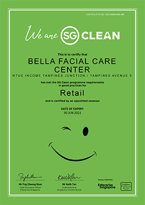 Our NTUC Income Tampines Junction center is SG Clean certified!