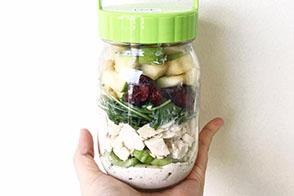 Lunch in a mason jar 7