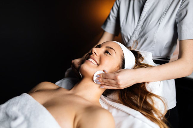 Schedule regular facial treatments